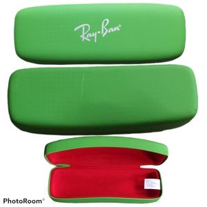Ray-Ban Green Eyewear Case